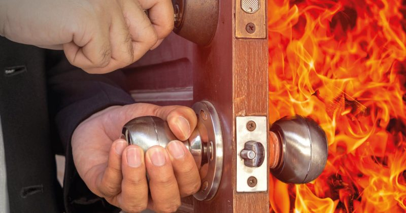 Acura Developments and Bishop Doors Fire Doors
